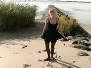 Couple allemand rend le sexe à la plage