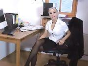 Le sexe anal avec une blonde amie allemande sexy