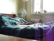Sexe avec sa femme sexy au lit