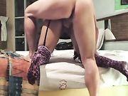 Le sexe anal avec son épouse en provenance du Mexique