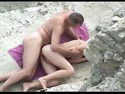 Baise à la plage